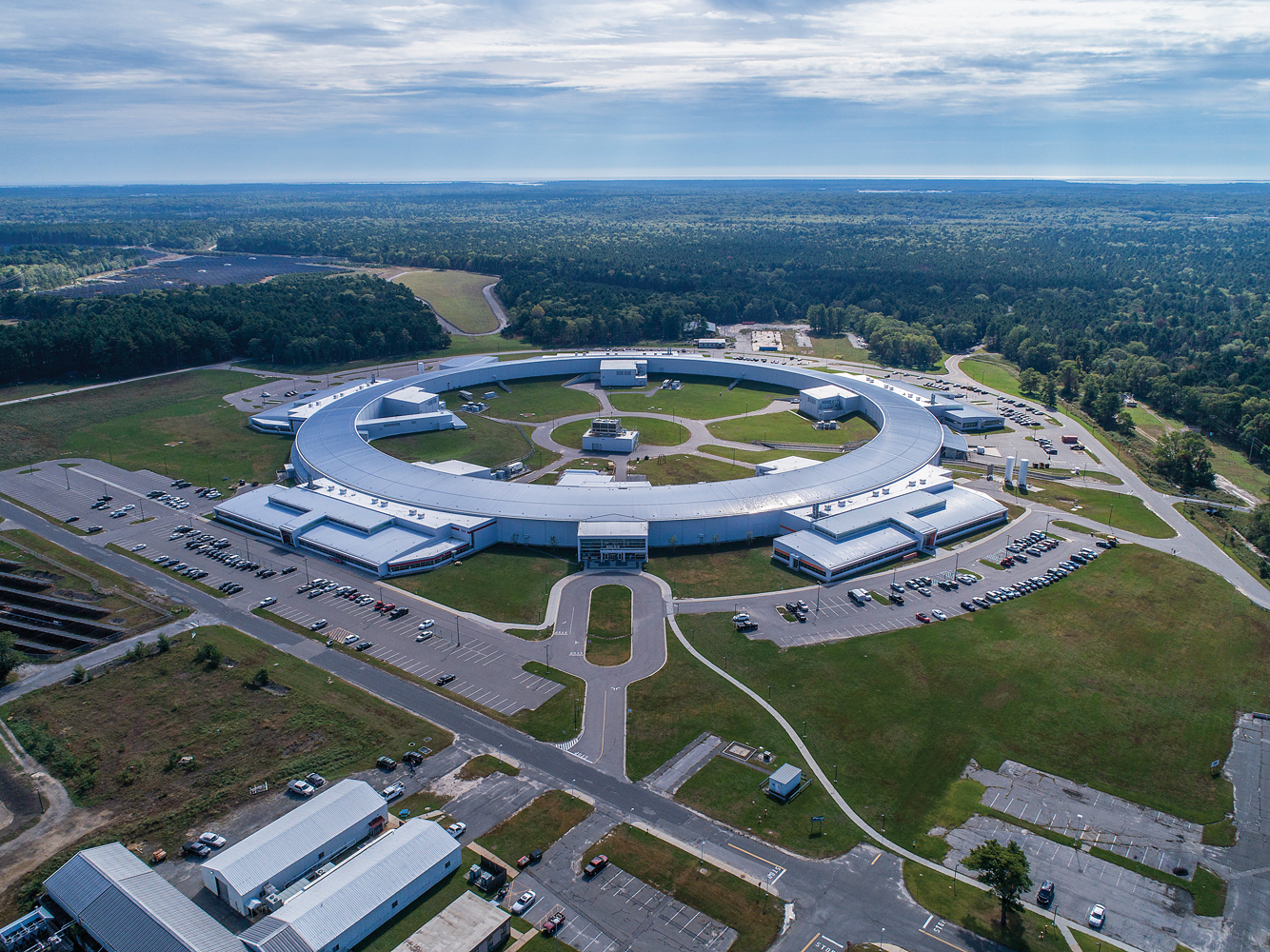 BNL's NSLS-II is one of the most advanced synchrotron facilities in the world. Next for the lab is the addition of a $1 to $2 billion Electron Ion Collider, which will keep BNL and SBU researchers at the forefront of nuclear science.