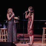 Kelli O'Hara and Sutton Foster performed at Staller Center on March 7 (photo by Millie Elangbam, courtesy Staller Center).