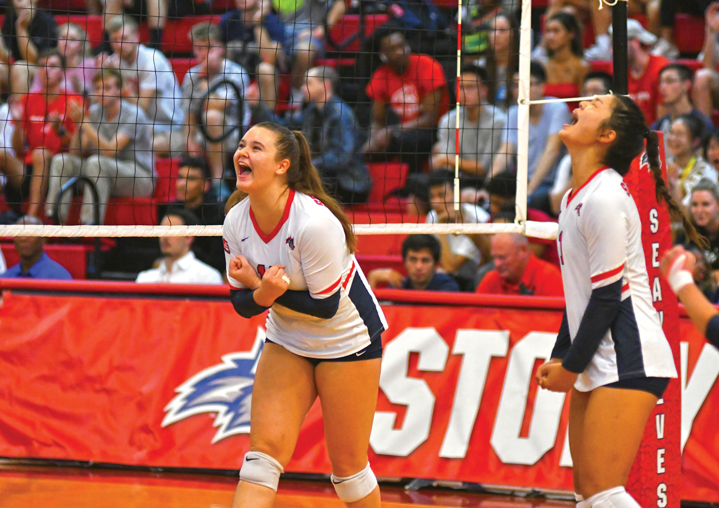Women's Volleyball Home Opener: 2019–2020 marks the 20th anniversary of SBU's move to Division I. Pritchard Gym, Jim Harrison