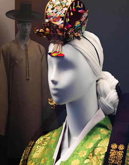 """Korea: A Land of Hats"" Exhibition: A display of more than 500 years of culture through the works of several master artisans from South Korea. Charles B. Wang Center,  Conor Harrigan"