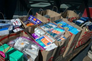 A variety of comfort items have been donated for the medical staff and patients