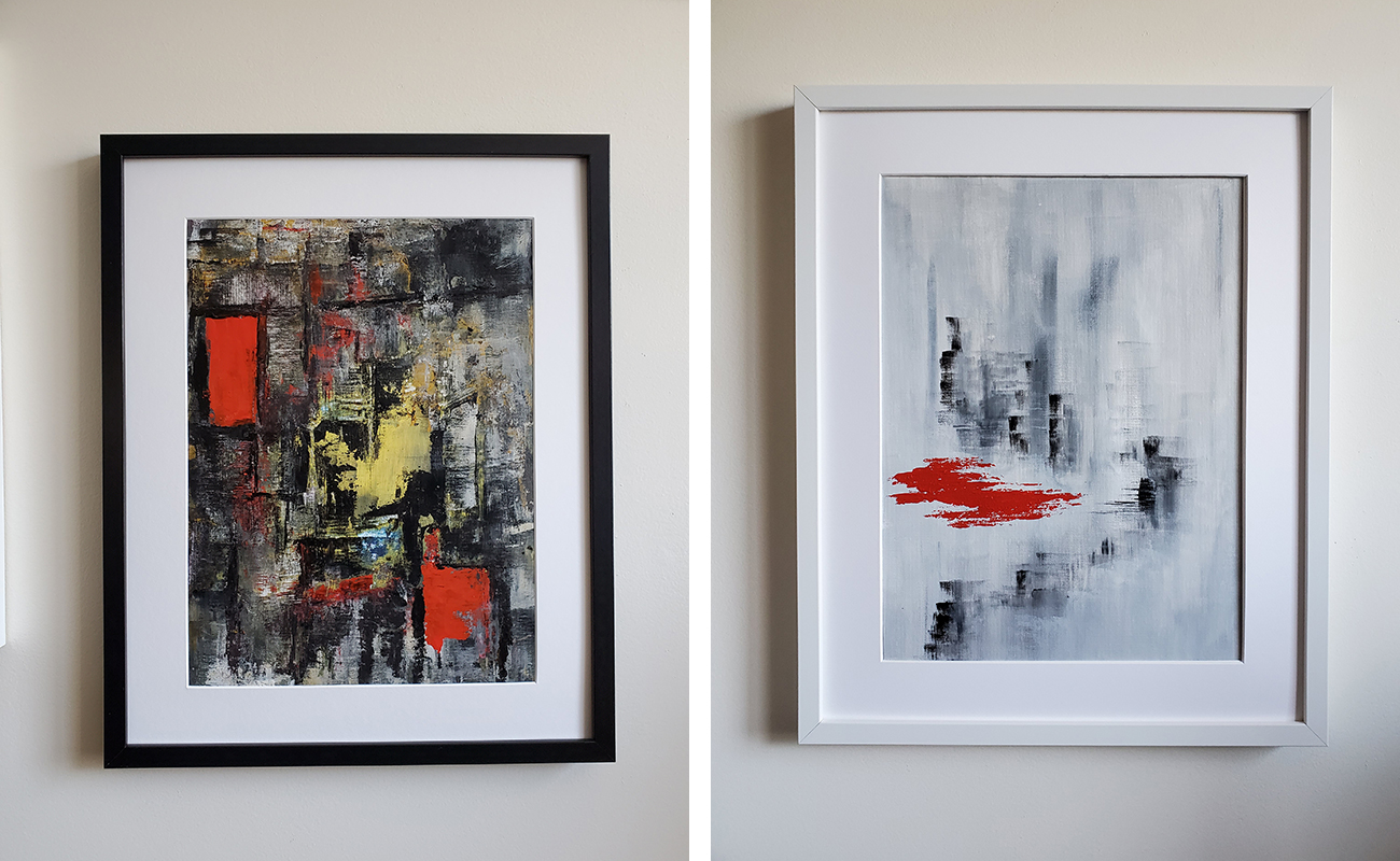 Balasubramanian's paintings