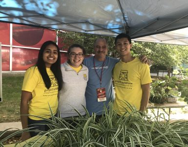 Tony Gentile and Project Sunshine students