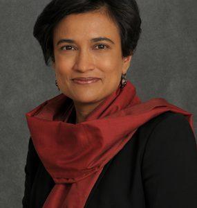 Distinguished Professor Suparna Rajaram (photo by Jeanne Neville)