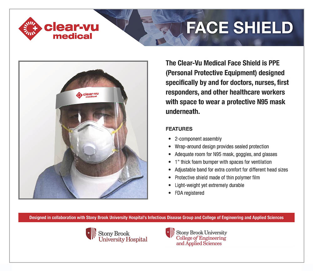 Clear-Vu Face Shield