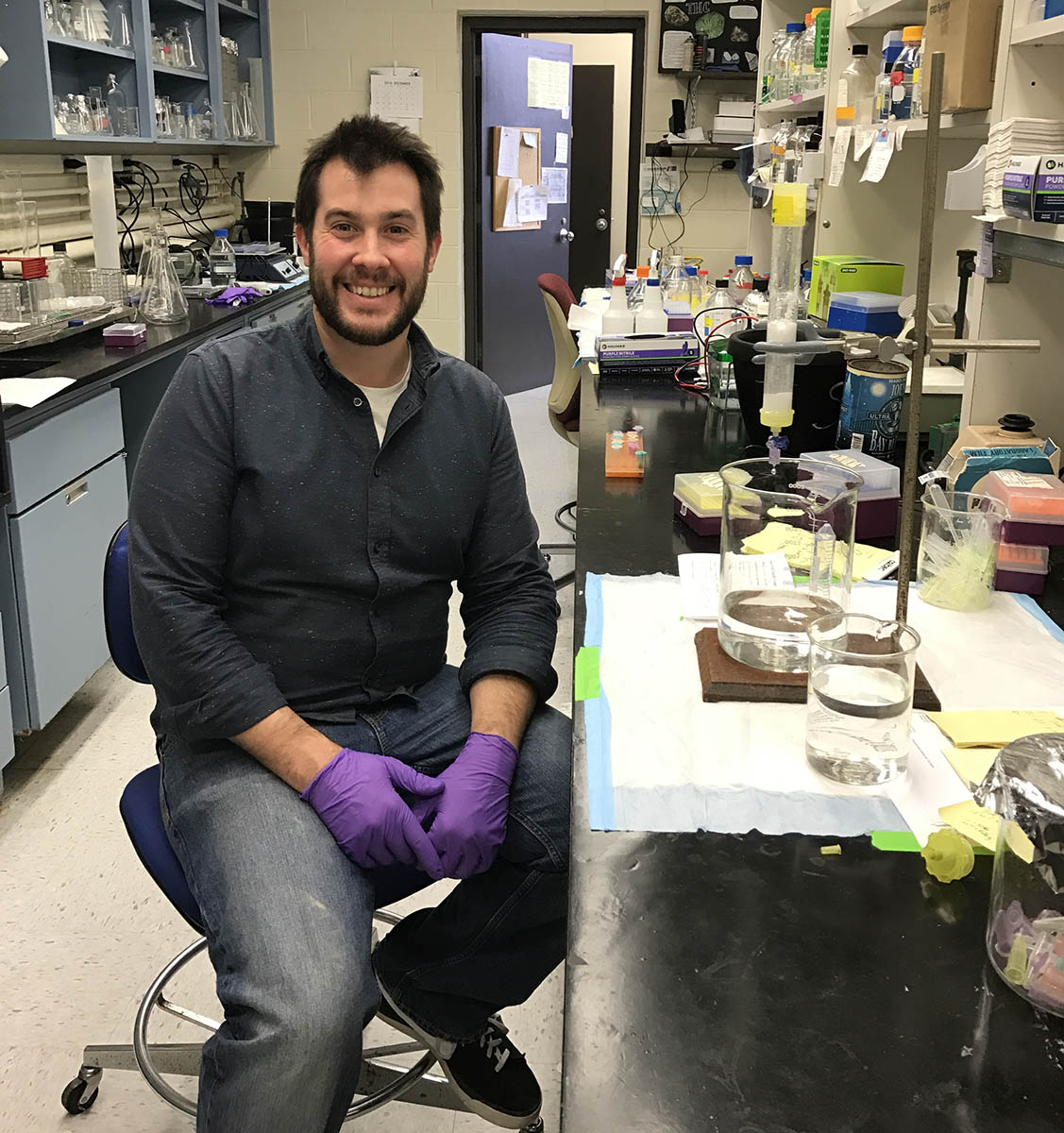 Matthew Elmes '18, PhD
