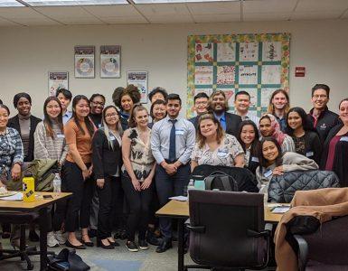 Stony Brook's Diversity Professional Leadership program and YAI staff