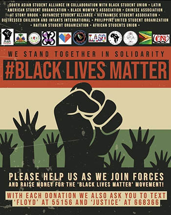 BLM fundraising poster