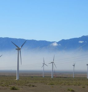 WInd farm in CHina
