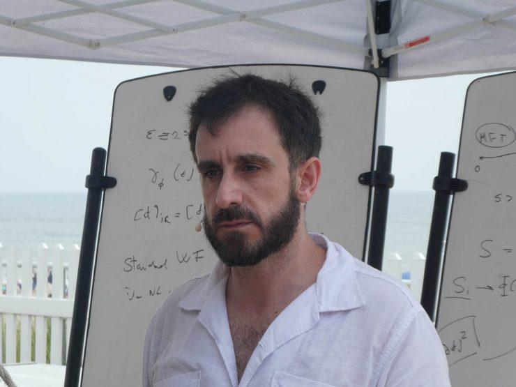 Professor Leonardo Rastelli is the Renaissance Chair in Theoretical Physics.