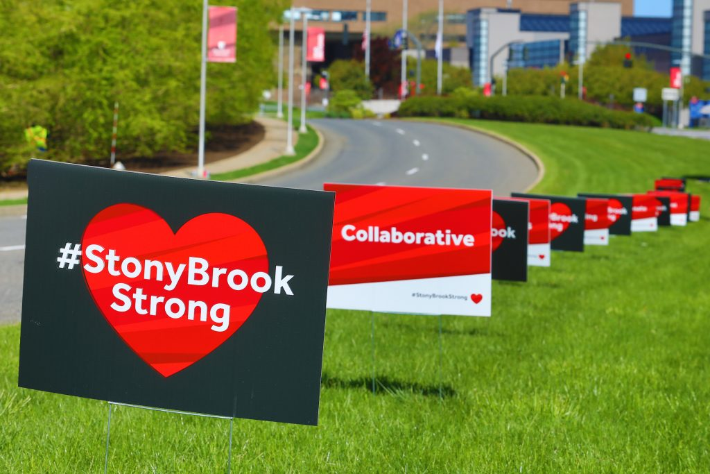 stony brook strong signs