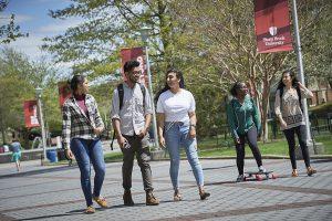 Stony brook university students
