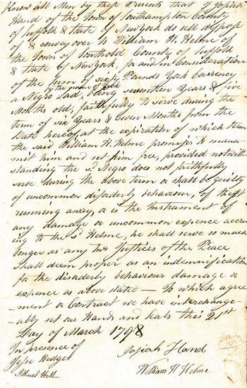 Josiah Hand manuscript