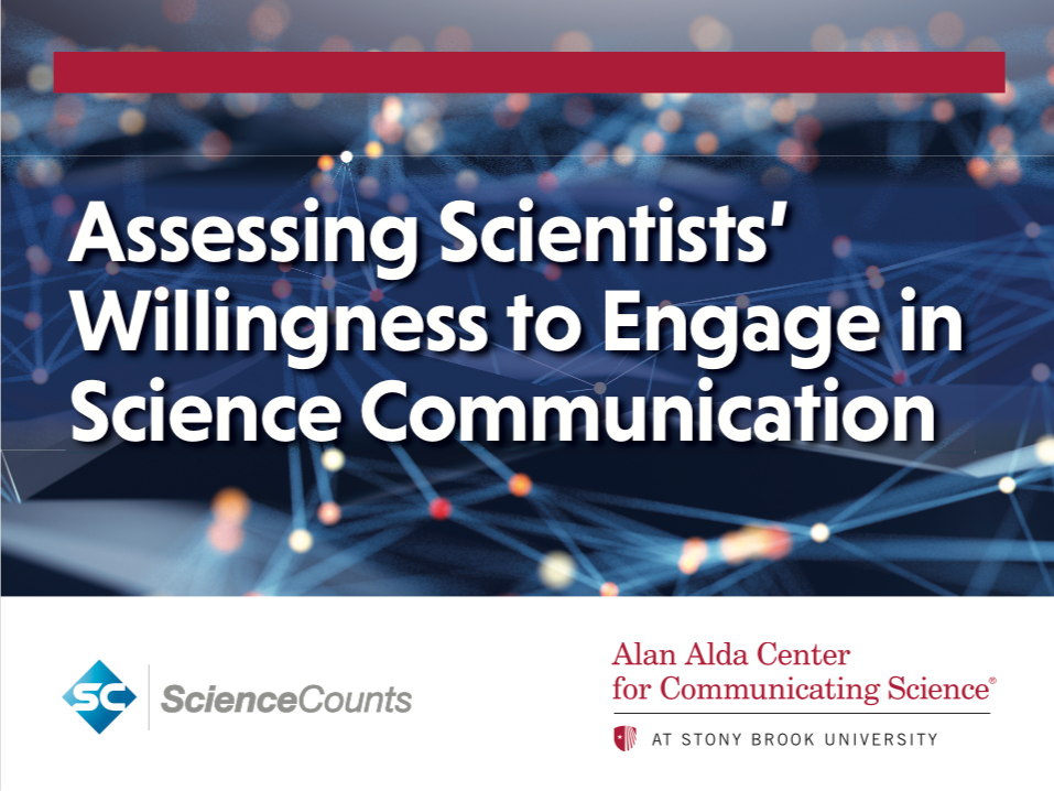 Survey examines scientists' attitudes toward public engagement