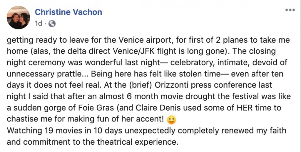 Vachon venice facebook