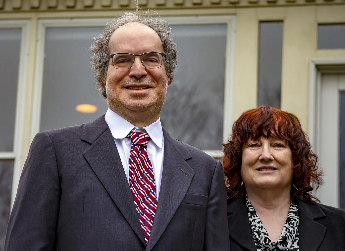 Vincent Della Pietra and wife Barbara Amonson, Photo courtesy the Della Pietra Family