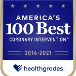 Hg americas 100 best coronary intervention award image 2016 2021