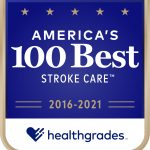 Hg americas 100 best stroke care award image 2016 2021
