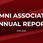 Alumni Association Shares 2019-2020 Annual Report