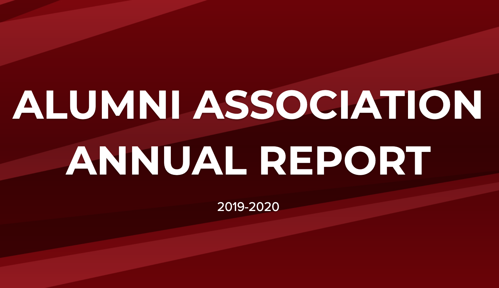 Screen shot Alumni Association Annual Report 2019-20202020 10 27 at 11.48.27 am