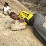 Webbuluk bonebed excavation