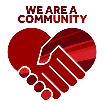 We Are a Community logo
