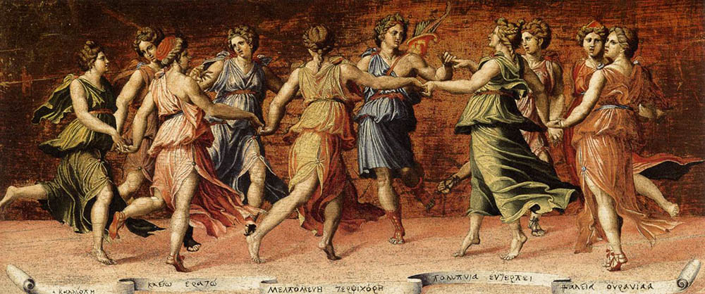 """Apollo and the Muses"" by Baldassare Peruzzi"