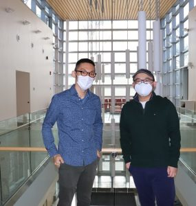 Ai postdocs Baojian and Naoya