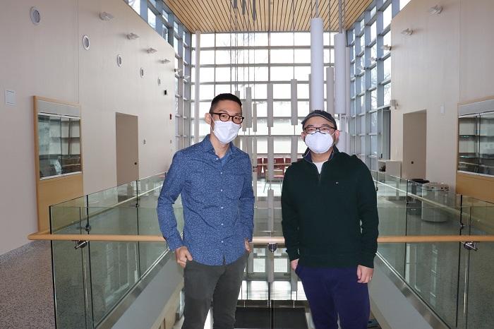 Ai postdocs Baojian and Naoya
