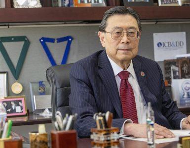 Distinguished Professor Iwao Ojima