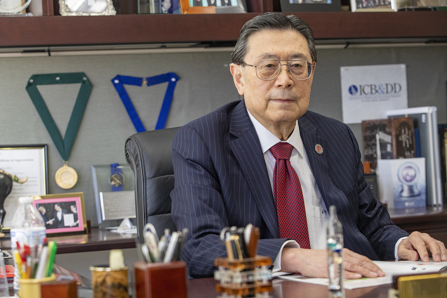 Distinguished Professor Iwao Ojima