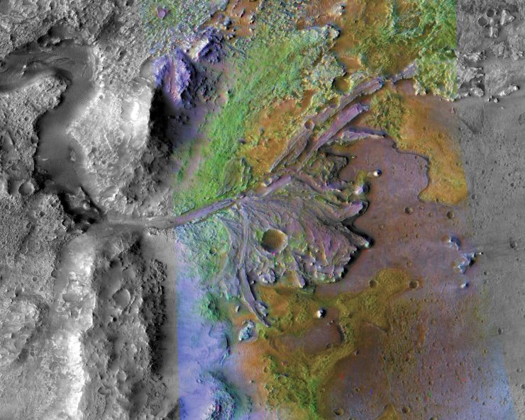 Samples from the Jezero Crater, the landing site of NASA's Mars 2020 Mission, may help to reveal evidence of Mars' climate changes during its existence and possible signs of previous life. Credit: NASA/JPL-Caltech/MSSS/JHU-APL