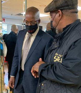 Suffolk County Sheriff Errol D. Toulon Jr. expanded the START Resource Center into the community when he launched the Family Reunification Initiative in partnership with the Stony Brook University's School of Social Welfare.