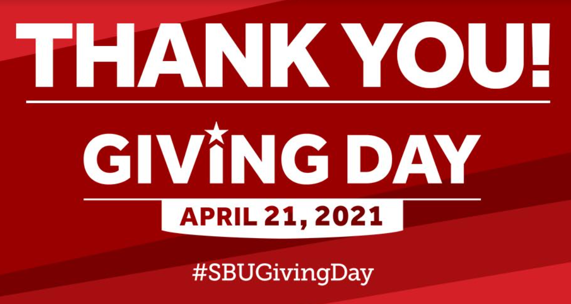 Giving day thank you sbugivingday