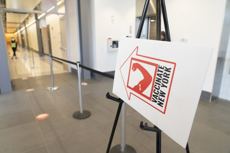 Stony Brook University reaches a major milestone in the COVID-19 vaccine distribution process administering the 200,000th vaccine at its state-run mass vaccination site. The site, established under the leadership of Governor Cuomo, opened on January 18.