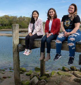 Hudson river researchers