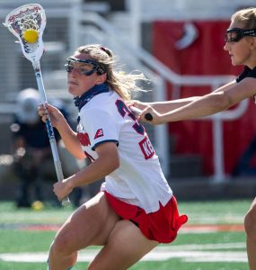 Ally Kennedy scored seven goals against UMBC on Thursday to send the Seawolves to the America East finals. Photo by Andrew Theodorakis