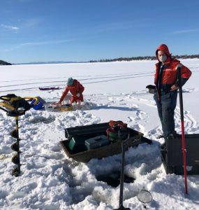 Mercury ice research