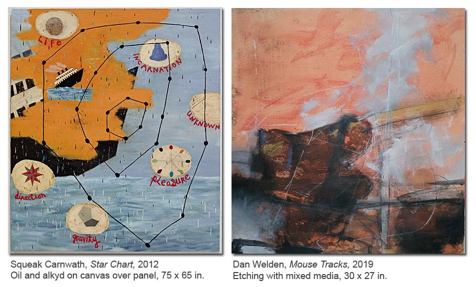 Pollock house exhibit