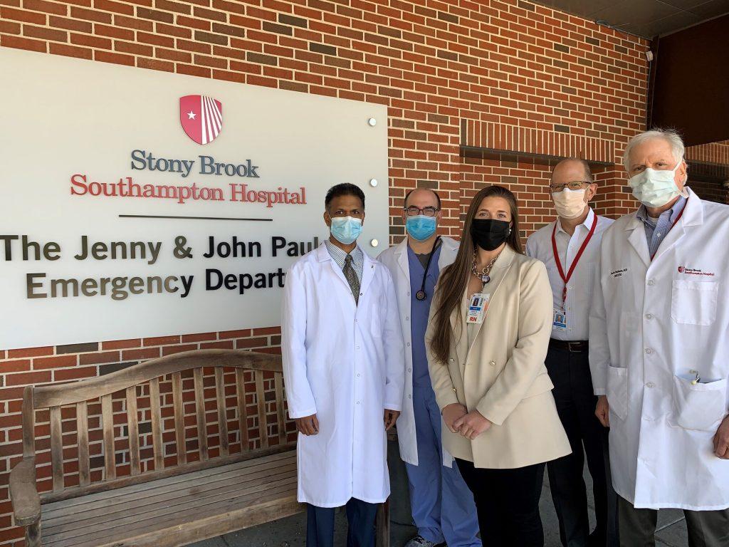 Sbsh emergency dept. trauma center team