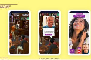 Dating app mock