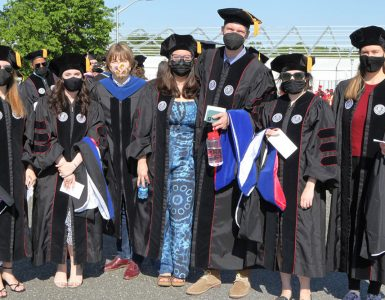 Doctor grads may 21 commencement