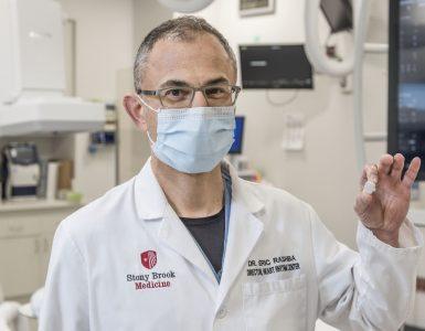 Dr rashba with watchman device