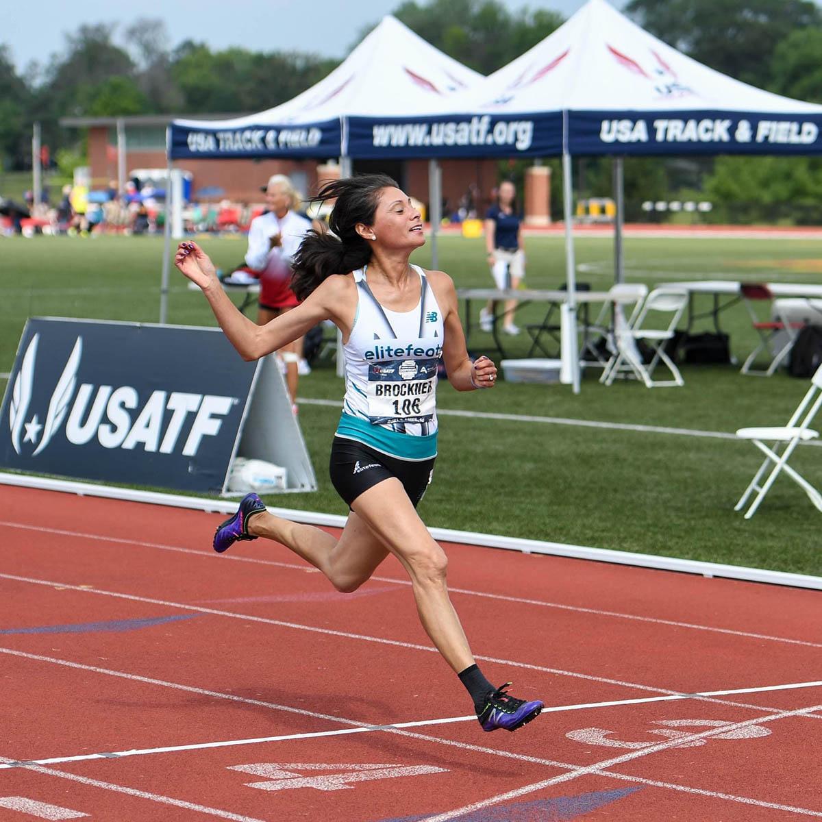 SBU Track Star Triumphs at USATF Masters Athletics Championships