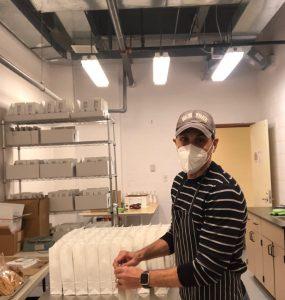 Bruno LoGreco's The Biscotti Company uses the Food Business Incubator.