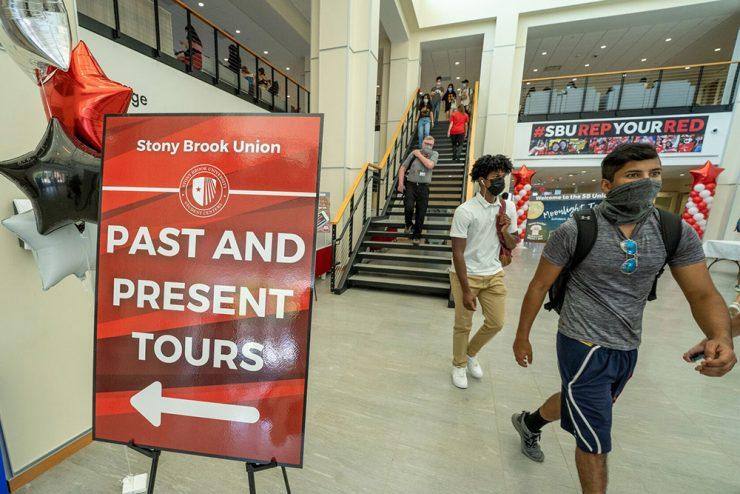 Sb union opening tours