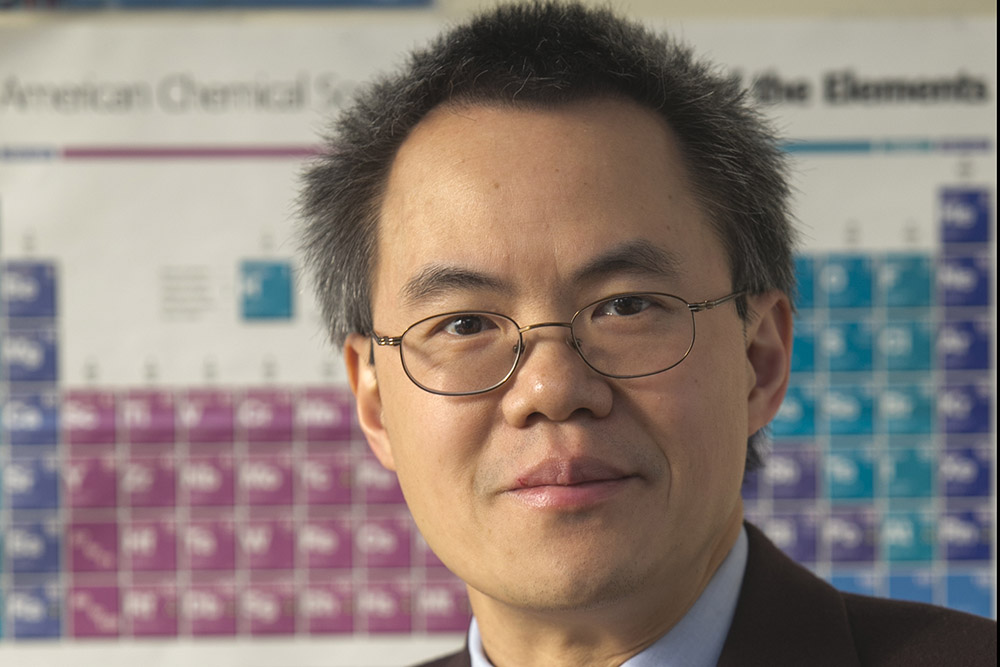 Stanislaus Wong Named 2021 American Chemical Society Fellow