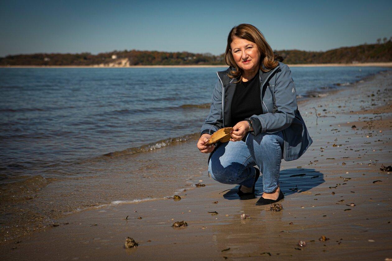 Ellen Pikitch, Ellen Pikitch, Endowed Professor of Ocean Conservation Science at SoMAS