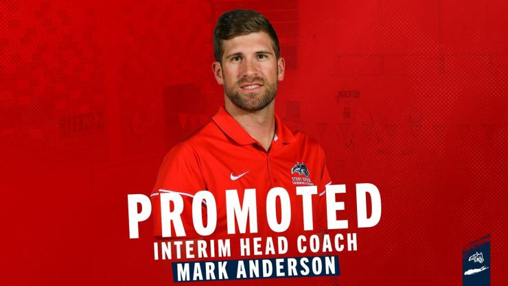 Promoted Interim Head Coach Mark Anderson