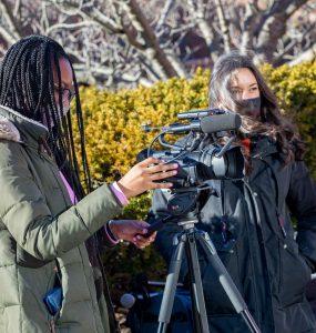 videojournalism students
